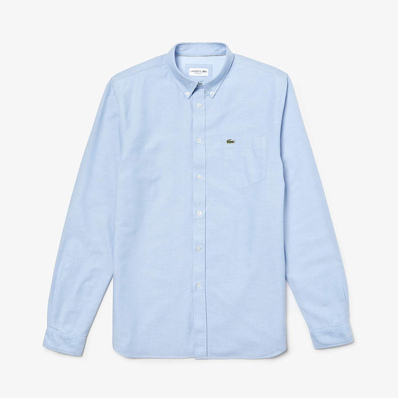 Bleu (Hemisphere 58m) XS S  Lacoste Chemise habillée Homme