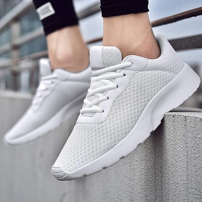 ZODOF calzado deportivo Moda Hombres Zapatos deportivos Malla Respirable Casual Zapatillas Estudiantes Zapatos para correr(40 EU,Negro): Amazon.es: Bricolaje y herramientas