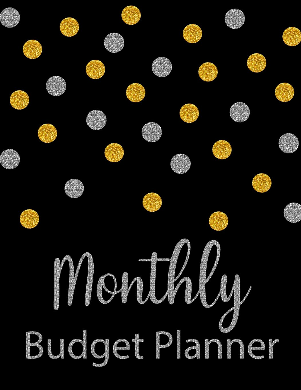 monthly budget planner glitter weekly expense tracker bill