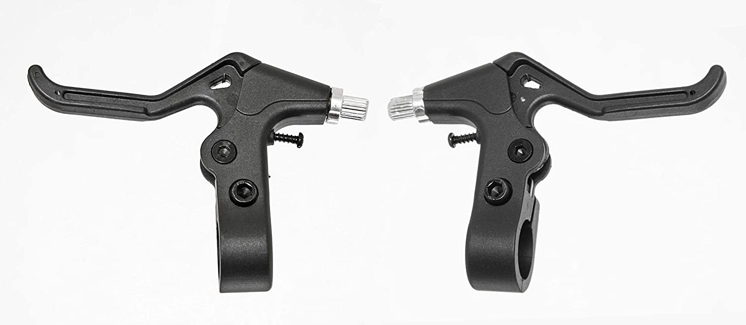 New Pair for Childrens Bicycles in RED new KIDS BIKE V-BRAKE LEVERS
