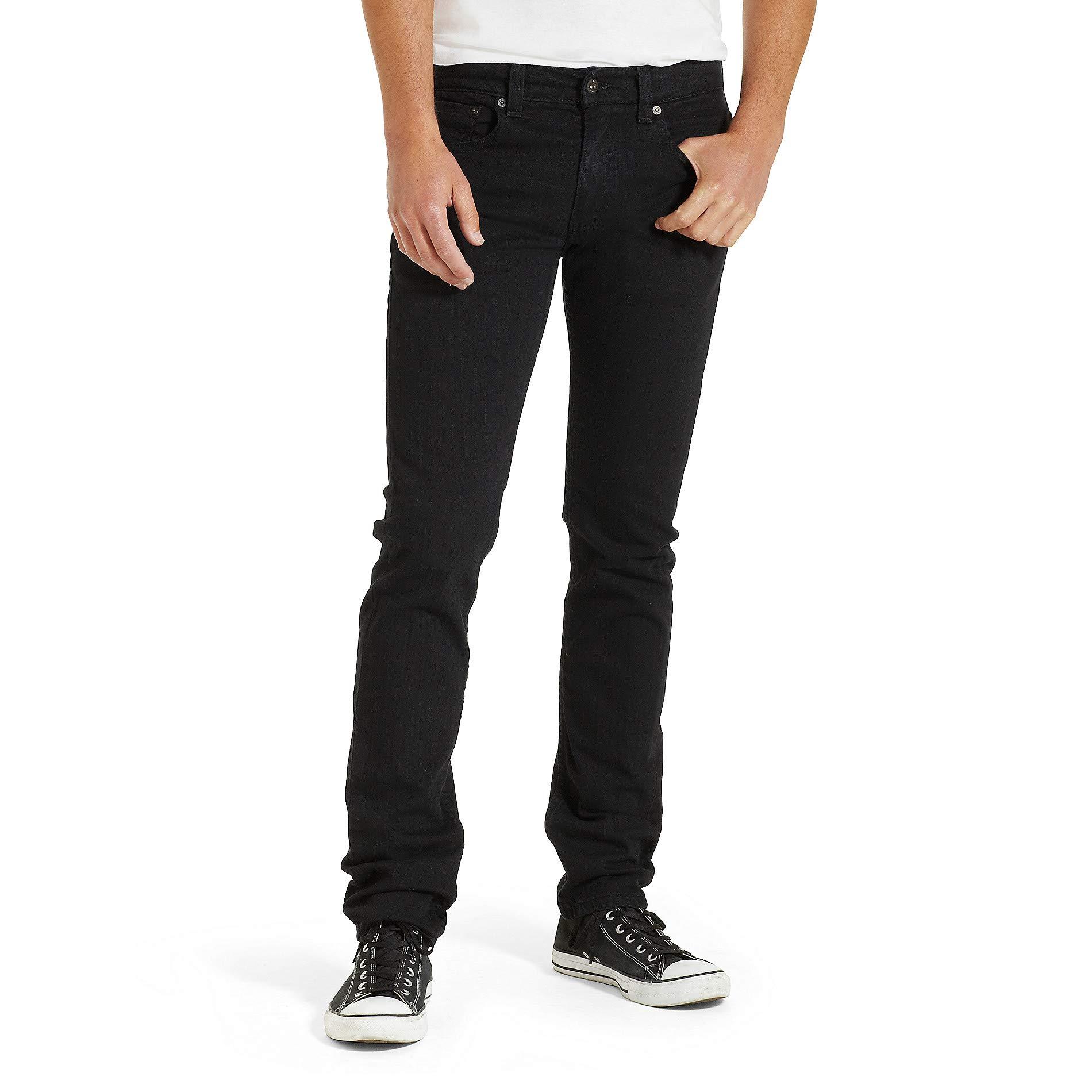 Levi's Men's 511 Slim Fit Jean, Black - Stretch, 32W x 32L by Levi's