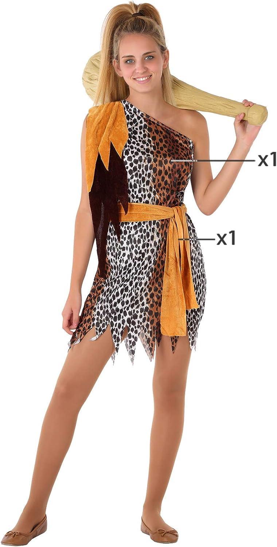 Atosa-61582 Atosa-61582-Disfraz Cavernicola- ADOLESCENTE- Mujer ...