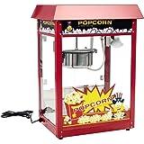 Royal Catering - RCPS-16E - Machine à popcorn - toit rouge - 1600 W - 8 oz - 16 L/h