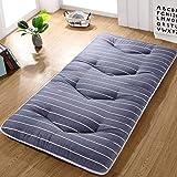 HAOLY Japonés Espesar futón Tatami cojín colchón,Estera de meditación,Cojín de…
