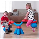 TP Spiro Bouncer Seesaw - Red/Blue (TP983) by TP Activity Toys