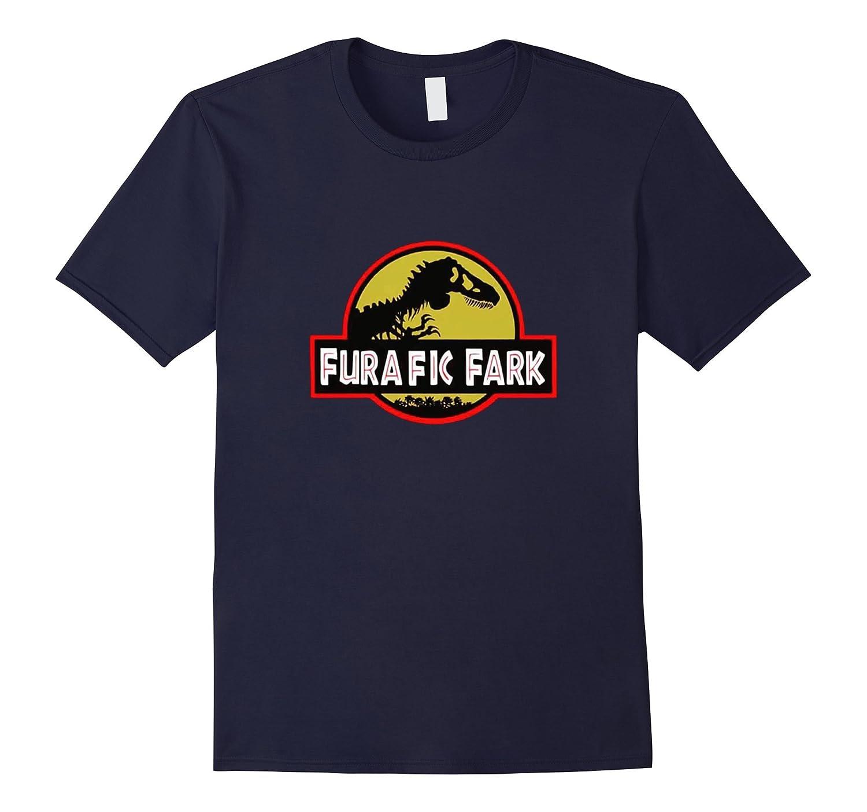Funny Furafic Fark Cool Dinosaur Theme Extinct Dino Shirt-TD