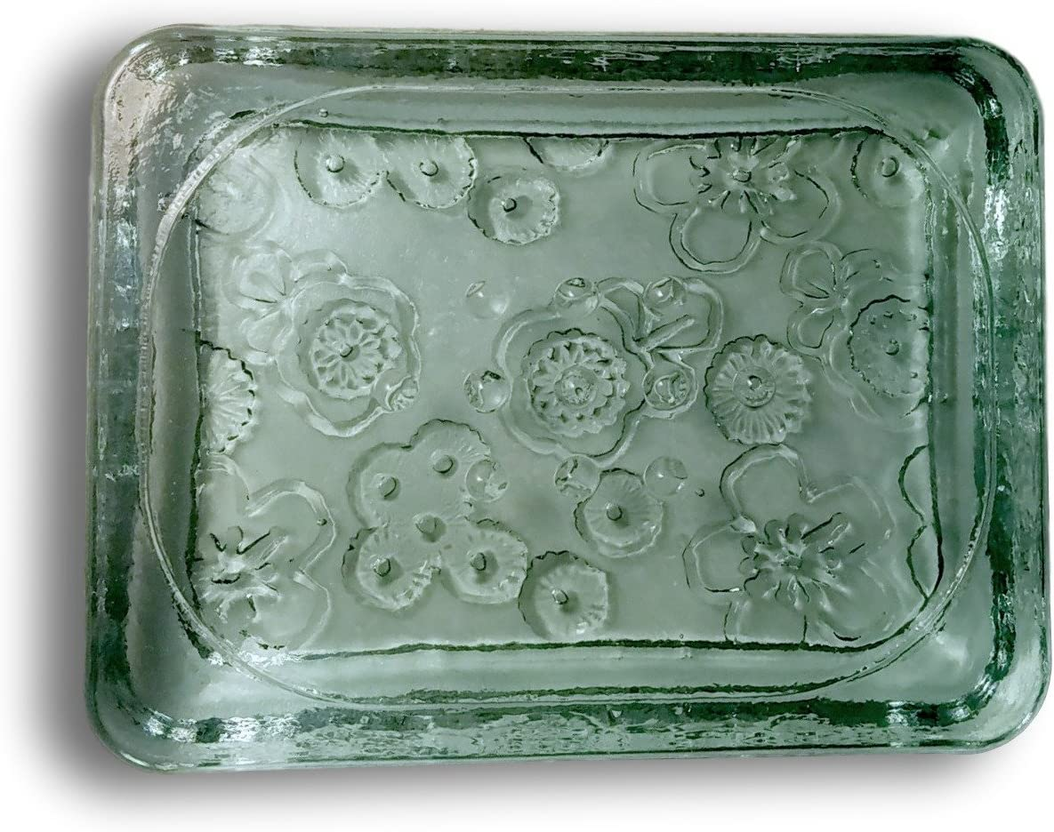 100% Recycled Glass Soap Dish – Van Gogh Style from Stonebrae & Strath