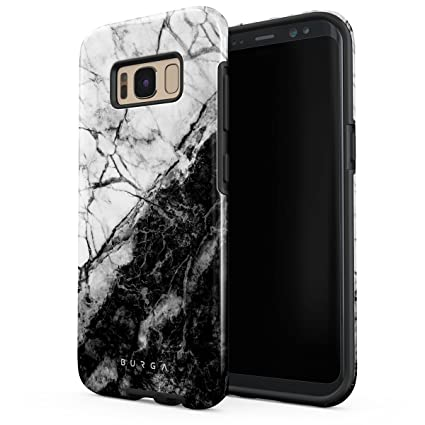 Amazon.com: Burga carcasa para Samsung Galaxy S8 negro y oro ...