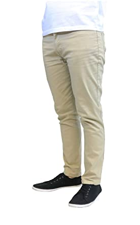 42af09879a95 Galaxy by Harvic Slim Fit Men s Stretch Chino Pants at Amazon Men s  Clothing store
