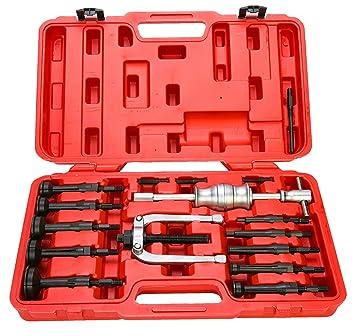Innen-Auszieher Set Werkzeug 16tlg Lagerabzieher-Satz Mit Gleithammer Satz Neu