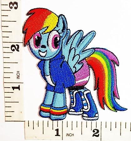 Amazon Rainbow My Little Pony Unicorn Horse Comics Cartoon