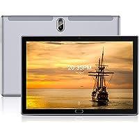 FEONAL Tablet 10 Pulgadas Android 10 4G LTE +WiFi, 4GB RAM+64GB ROM (TF 128GB), Octa-Core, Batería 6000mAh, Tableta con…