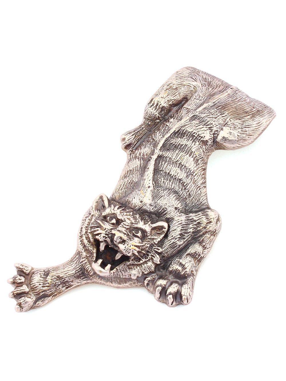 Silver Banknote clip Money clip ''Tiger'' small