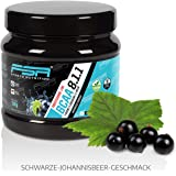 BCAA Powder Amino Acids | Sensational taste | Made in Germany for Professional Athletes by FSA Nutrition® | Dietary Supplements for Muscle Growth, Regeneration, Bodybuilding and Weight Loss | Branched-chain Aminos (Leucine, Isoleucine, Valine) Ratio 8:1:1 |Vegan | Black Currant