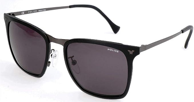 Police Sonnenbrille SPL154 Gafas de sol, Negro (Schwarz ...