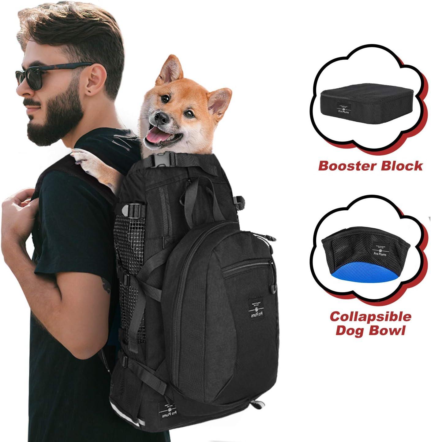 Dog Face Multifunctional Bundle Backpack Shoulder Bag For Men And Women