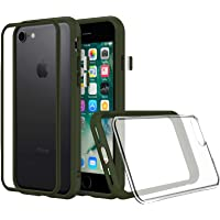 RhinoShield Coque pour iPhone 7 / iPhone 8 [Mod NX] Protection Fine Personnalisable avec Technologie Absorption des Chocs [sans BPA] + [Programme de Remplacement Gratuit] - Vert Kaki