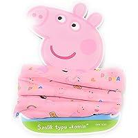 E PLUS M Braga de Cuello Peppa Pig para Niñas - Bufanda Peppa Pig Tubular Coralina Surtido