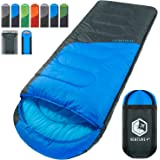 VENTURE 4TH Backpacking Sleeping Bag - Lightweight, Comfortable, Waterproof, 3 Season - Hiking, Camping & Outdoor Adventures (Adults & Kids)