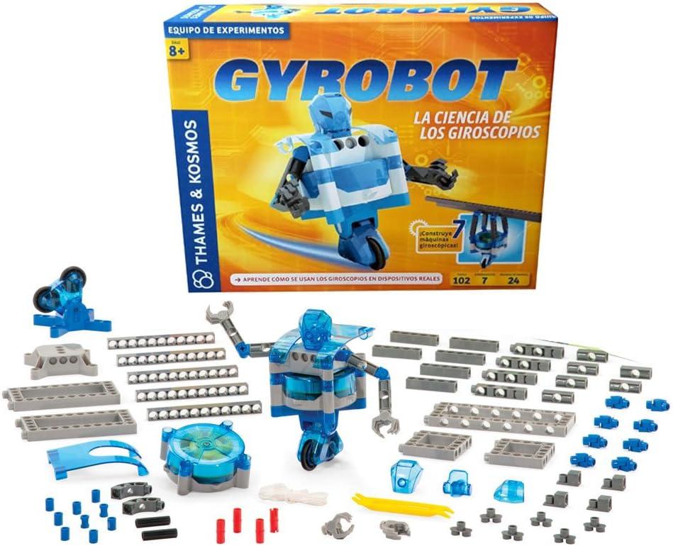 Juego de experimentos GYROBOT. La ciencia de los giroscopios. Edicion en Castellano: Amazon.es: Juguetes y juegos