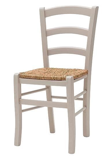 White Loft Möbel Für Alle 235 GN Set Von 2 Stühle 43x42x88 Cm Grau