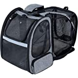 Petsfit Large Expandable Dog Backpack Carrier with Good Ventilation for Pets up to 18 Pounds