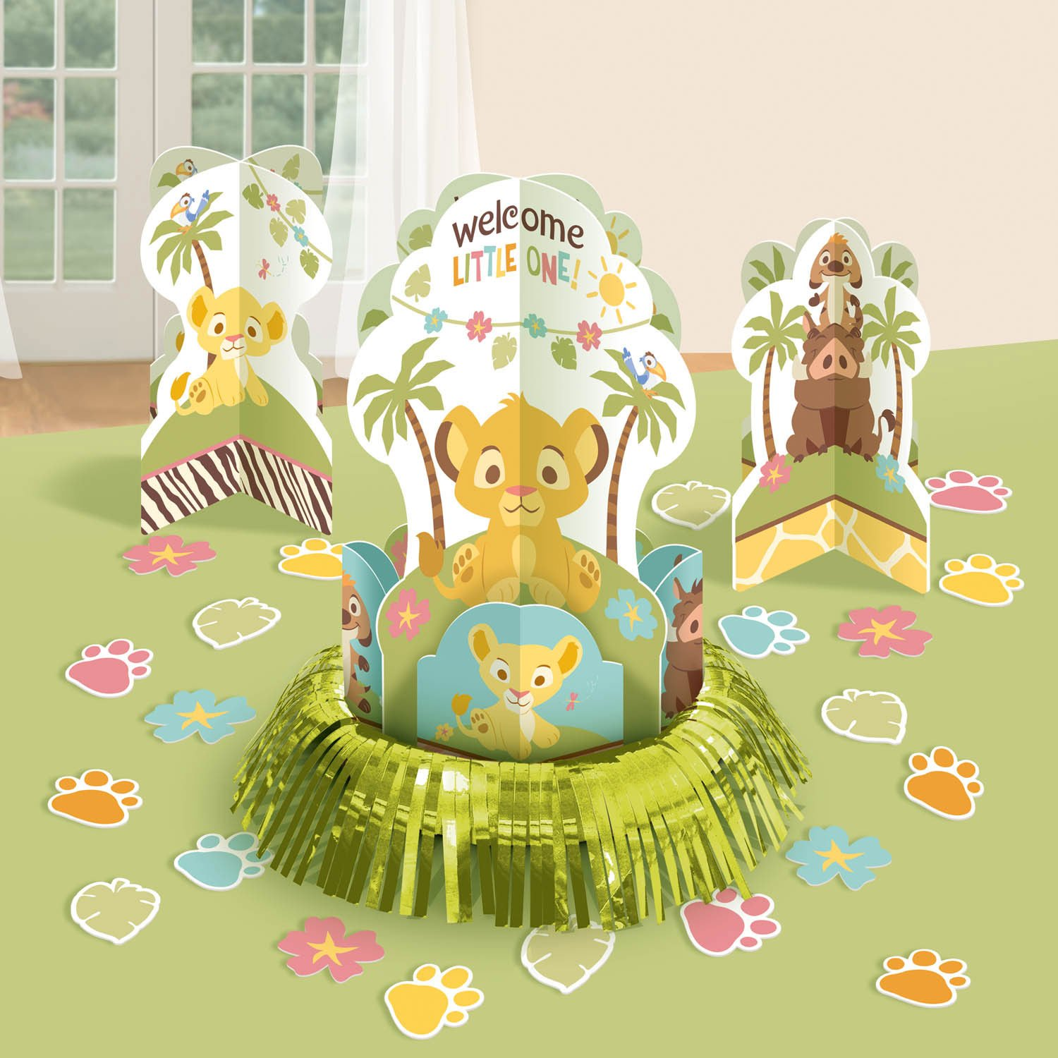 Amazon.com: Lion King Baby Shower Table Decorating Kit Party Supplies Decor  Disney: Toys U0026 Games