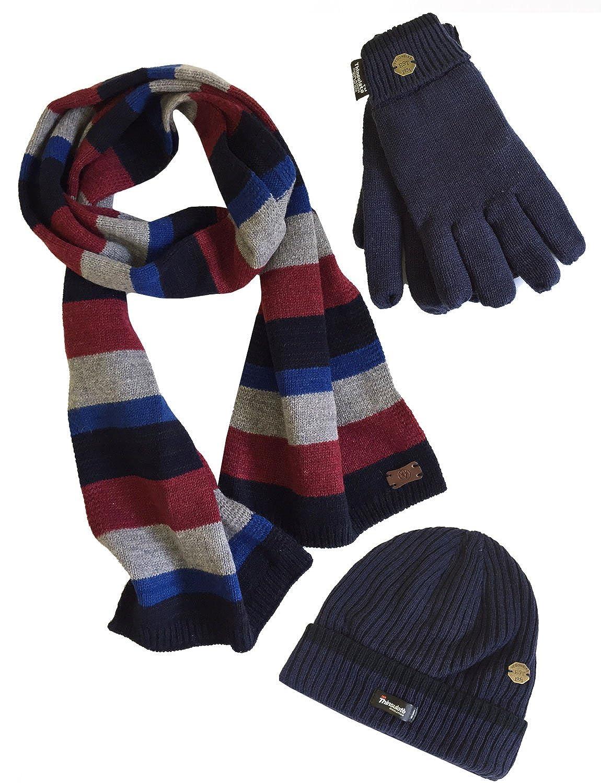 gorro y guantes Vedoneire Set de bufanda para hombre