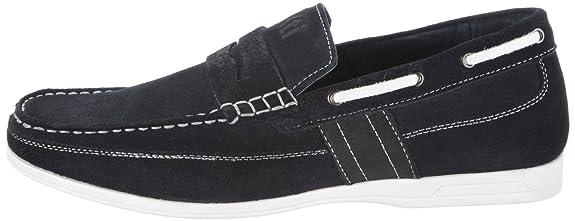 XTI XTI Sneaker XTI25008 SP12 - Zapatillas de ante para hombre, color azul, talla 40: Amazon.es: Zapatos y complementos