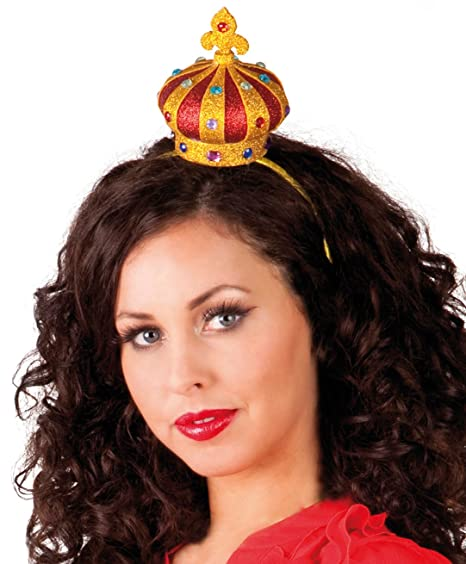 Royal Gold Crown Adults Fancy Dress Mens Ladies King /& Queen Nativity Accessory