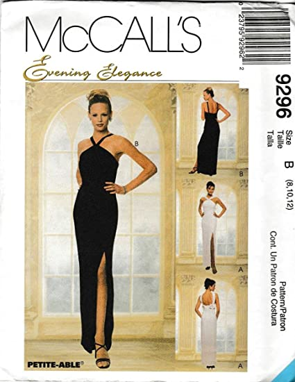 Amazon.com: McCall\'s Sewing Pattern M9296 9296 Misses Size 8-10-12 ...