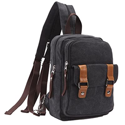 afabe5c5c02 ZUOLUNDUO Vintage Casual Canvas Daypacks Cute Travel Outdoor Backpack  Shoulder Bags outlet
