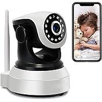 Elektroniczna niania z kamerą i audio, Wi-Fi, IP, WiFi, High-Definition 1080p, PTZ, kamera wewnętrzna, obracana o 355…