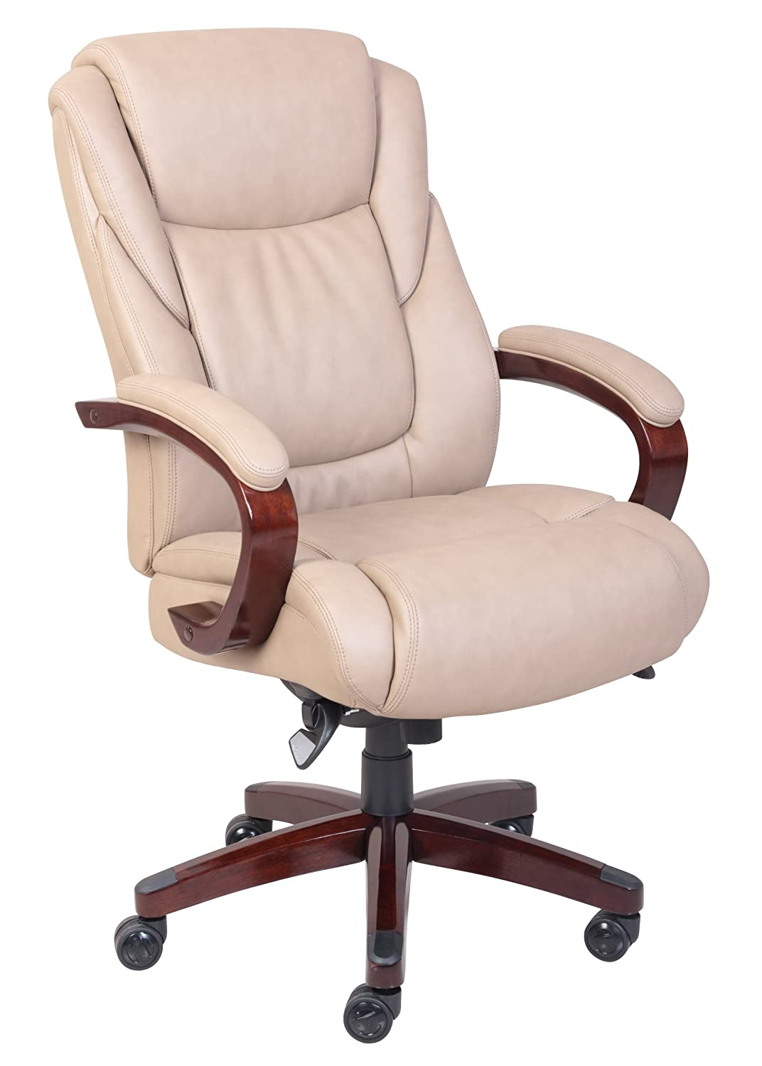 La-Z-Boy Bellamy Executive Bonded Leather Office Chair - Coffee (Brown) Millwork Holdings Co. Inc. 45783