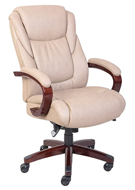 Amazoncom La Z Boy Miramar Executive Bonded Leather Office Chair