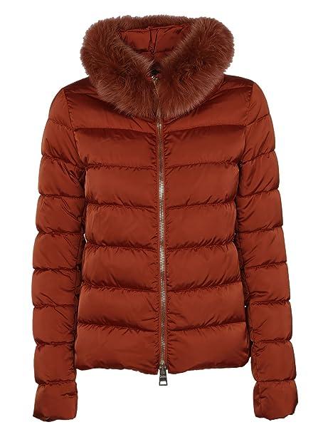 Herno Piumino Donna Pi0654d121705800 Poliammide Arancione  Amazon.it   Abbigliamento d081b6bec85