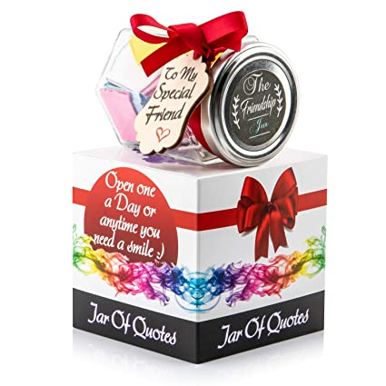 handmadesurprises friendship jar of quotes for your best friend