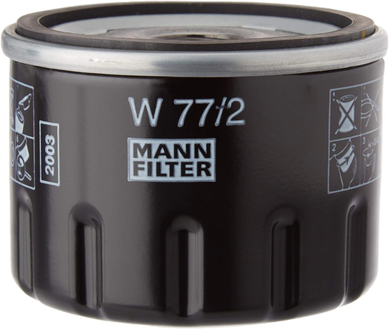 Original Mann Filter Ölfilter W 77 2 Für Pkw Und Nutzfahrzeuge Auto