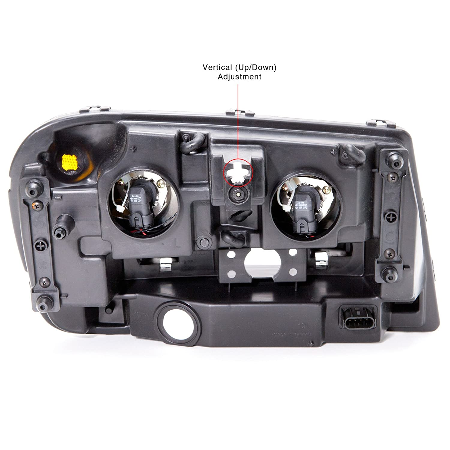 Headlights Depot Chevy Trailblazer Lt Ls Ss Headlight Oe 2005 Dimmer Switch Wiring Diagram Style Replacement Headlamp Driver Side New Automotive
