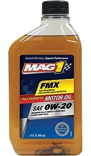 MAG1 61794-pk6 Full Synthetic 0W-20 SN Motor Oil - 32 oz.