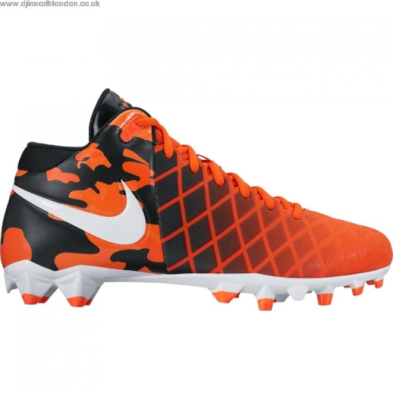 8580e3974722 Amazon.com   Nike Field General Pro TD Football Cleats Shoes Men's Size 10  Orange Black   Football