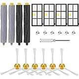 AGPtEK vervangende kit voor iRobot Roomba 990 980 966 960 900 en 896 895 890 886 880 871 870 866 865 860 850 805, iRobot Roomba-onderdelen met vuilopvanger, HEAPA-filters en zijborstels