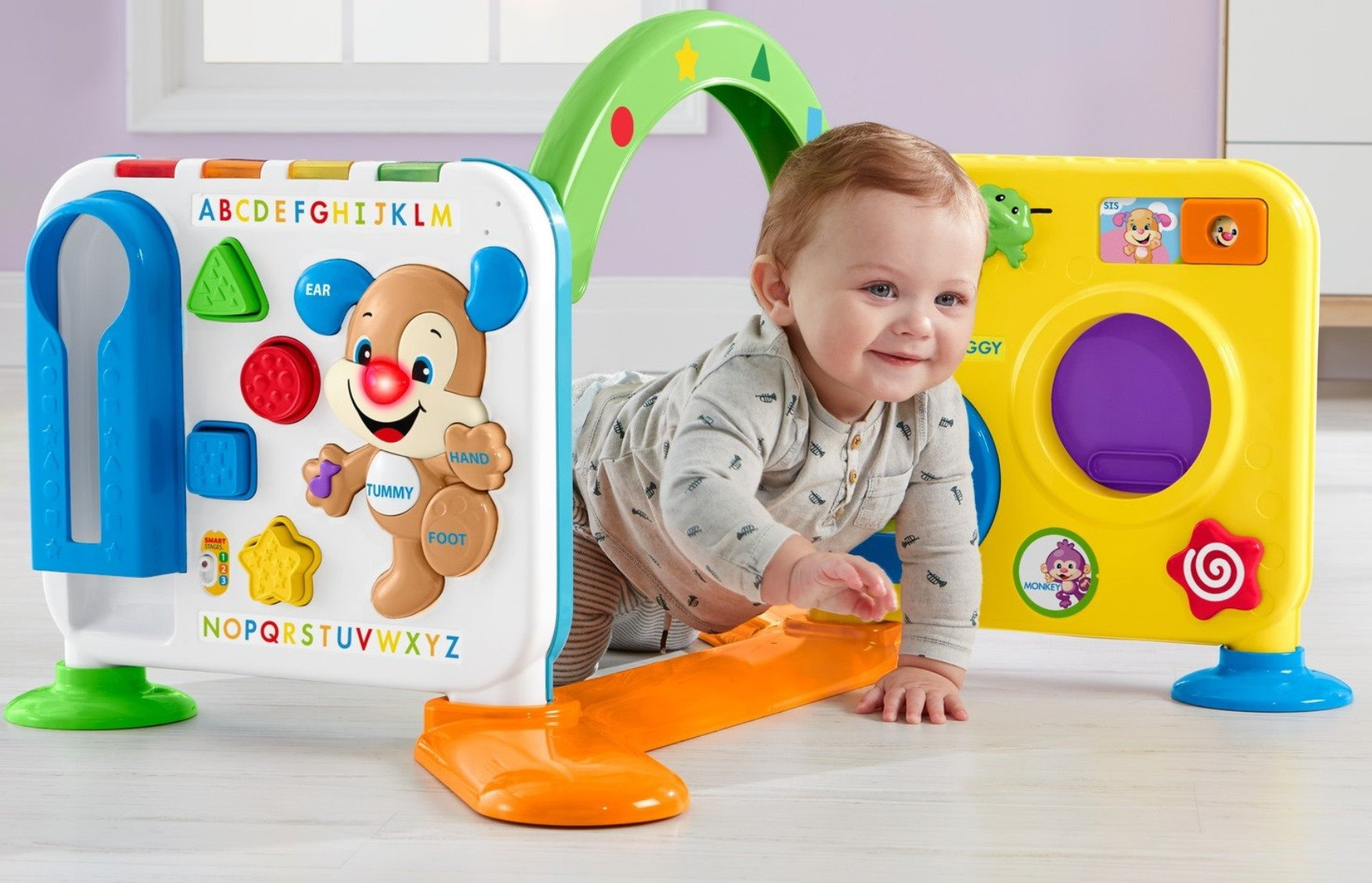 Fisher-Price Laugh & Learn Crawl-Around Learning Center by Fisher-Price (Image #12)