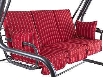 Häufig Amazon.de: Dajar 466492 Auflagenset für 4-Sitzer Hollywoodschaukel WL73