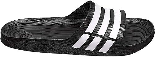 Venta anticipada chocar Descanso  Adidas Duramo Slide, Black/White/B.7: Amazon.co.uk: Sports & Outdoors