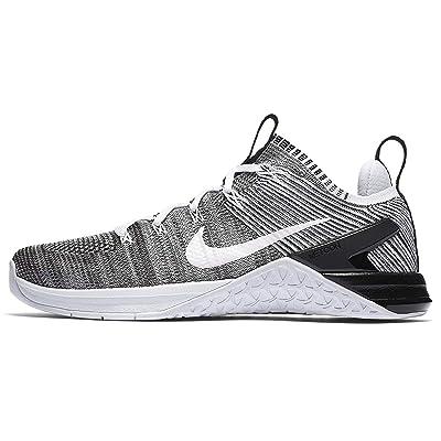 NIKE Metcon DSX Flyknit 2 Womens Running Shoes (7.5 B(M) US), White/White-black | Road Running