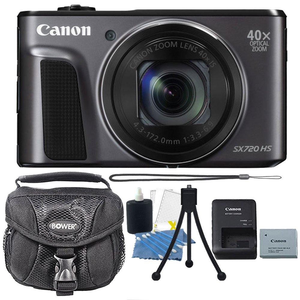 Canon PowerShot sx720 HS 20.3 MP 40 x光学ズームDIGIC 6プロセッサーWiFi / nfc有効デジタルカメラブラックwith Accessoryバンドル   B06Y18P1X6