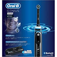 Oral-B Genius 10000N Electric Rechargeable Toothbrush - MIDNIGHT BLACK EDITION