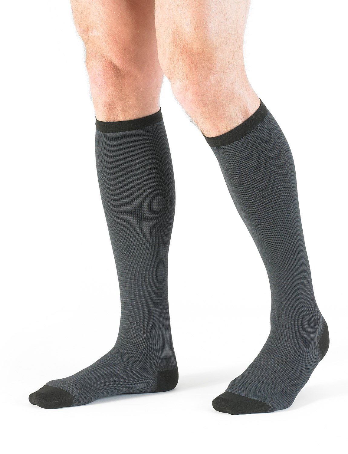 NEO G Men's Compression Socks - XX-LARGE - Grey - Medical Grade Quality, True Graduated Compression HELP aid circulation, reduce symptoms of tired, aching legs, mild oedema (edema) & swelling by Neo-G