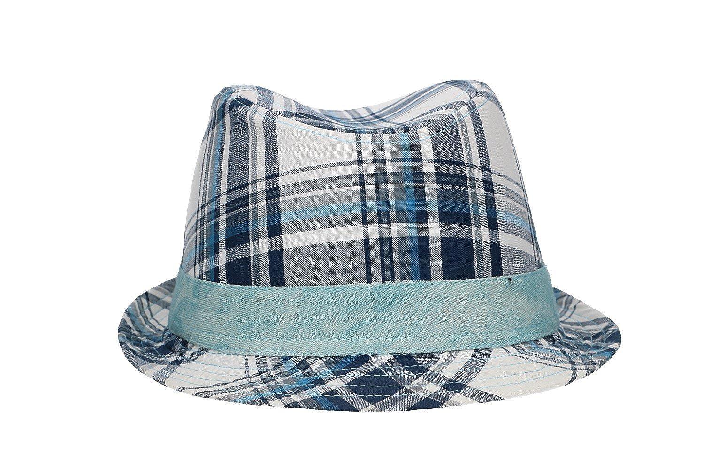 231ba6d2cbe4 Chapeau trilby homme NAPOLI ENZO CASTELLANO bleu tg. L VL437  Amazon.fr   Vêtements et accessoires